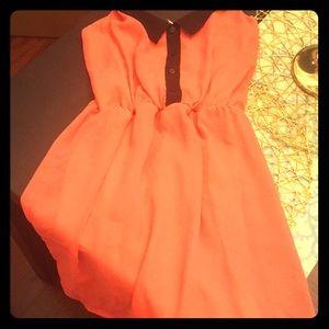 *EUC* Coral Minidress from Kirra